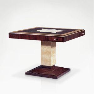 D-1110 Gambling Table CORAL WHITE EPOCA