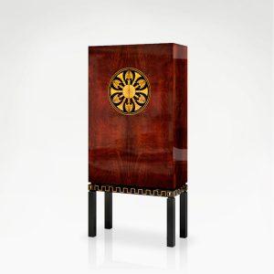 M-1169 Bookcase ROSETTE EPOCA