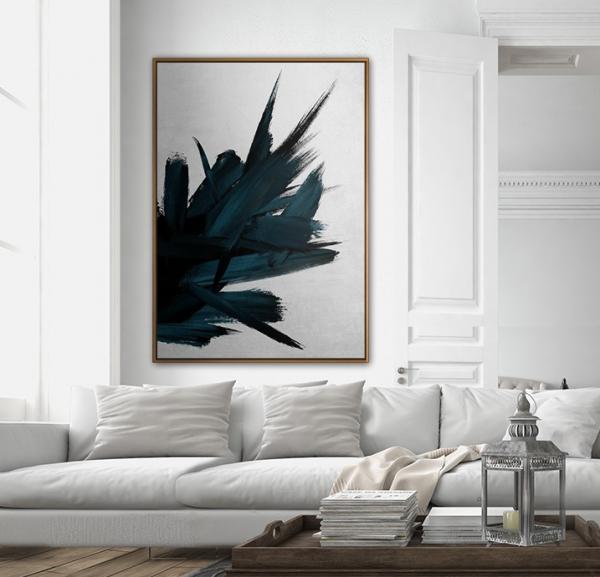 EPOCA Paintings by PICTOCLUB - Dark Quarz
